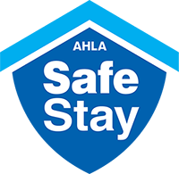 AHLA Stay Safe logo